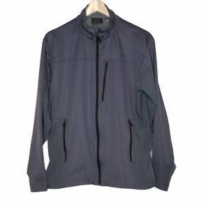 Marmot Gore Windstopper Soft Shell Jacket Men's XL Windbreaker Gray Full Zip